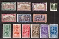 Italia Regno e RSI - selezione francobolli e serie complete **/*           -CA37