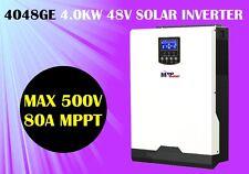 (GE) 5kva 4000w 48v Solar inverter 230v +80A mppt solar charger , high PV 500vdc