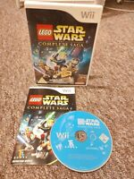 Lego Star Wars: The Complete Saga - Nintendo Wii Game - With Manual - FREE P&P!