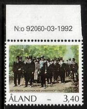 ALAND MNH 1992 SG62 70TH ANV OF 1ST ALAND PROVINCIAL PARLIAMENT