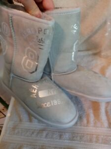 NWT AEROPOSTALE WESTERN DIVISION 1987 HOUSE SHOE BOOTS SIZE 9 1/2