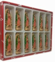 """3"""" Our Lady of Guadalupe Figurine Statue New Set of 12pcs"""