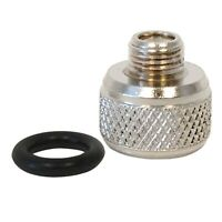 Adapter for 1/8 Iwata,Master & most Chinese Airbrushes to use Paasche Air Hose
