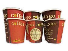 100-3000 Kaffeebecher Coffee to go Becher 0,2l  0,3l Hartpapierbecher Pappbecher