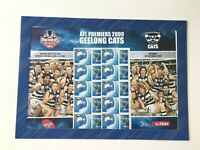 AD200) Australia 2009 Geelong Cats AFL Premiers Sheetlet MUH Collectable