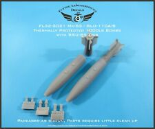 1/32 FL32-2021 Mk-83 Thermally Protected 1000lb bomb w/ BSU-85 Fin - F/A-18 A-6E