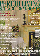 PERIOD LIVING & TRADITIONAL HOMES MAGAZINE OCTOBER 1994 *IDEAS FOR PERIOD HOMES*