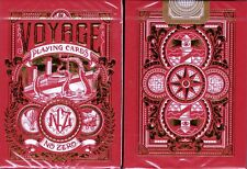 Voyage Red Playing Cards Poker Size Deck Custom Limited Edition New Sealed