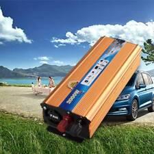 New listing 4000W Peak Modified Sine Wave Power Inverter 12V Dc 110V 220V Ac Car Converter
