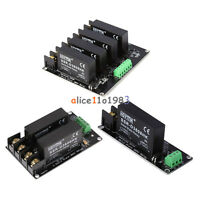 380V 8A 1/2/4 Channel Solid State Relay Board SSR Switch Controller Arduino
