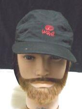 "Wavetribe Black 6"" Ear  Flaps All Seasonal  Hat Cap"
