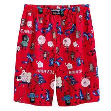 NWT ☀THE REGULAR SHOW☀ Pajamas Boys Lounge Shorts   New  6/7