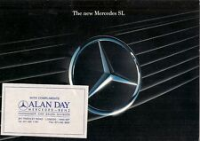 Mercedes-Benz SL 1989-94 UK Market 16pp Sales Brochure 300 300-24 500