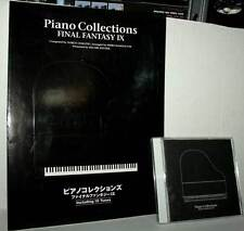 FINAL FANTASY IX THE PIANO COLLECTION + SPARTITO USATO VER GIAPPONESE ML3 44261