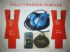 Tesla, Zoe, Audi, BMW, Hyundai 32amp 7.4 kw EV FAST CHARGER. Up to 3x faster.