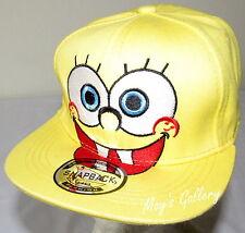SpongeBob Baseball Cap Hat Base ball squarepants Snack back sponge bob NWOT