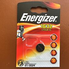 NEW Energizer 1632 CR1632 3V Lithium Coin Cell Battery DL1632 KCR1632, BR1632