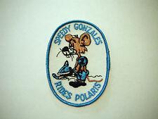 Vintage NOS Speedy Gonzales Rides Polaris Snowmobile Patch