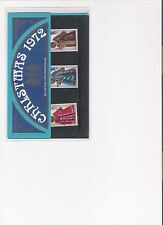 1972 ROYAL MAIL PRESENTATION PACK CHRISTMAS MINT DECIMAL STAMPS