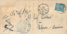 ITALIA REGNO: CIRCOLARE - ANNULLO SBARRE 2262: TAGLIUNO