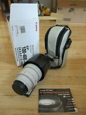 Used Canon EF 100-400mm f/4.5-5.6L USM Autofocus Image Stabilized Telephoto Zoom