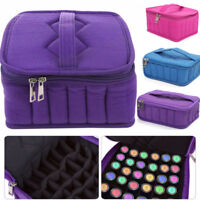 30 Bottles Essential Oil Carrying 5~15ML Portable Holder Case Travel Storage Bag