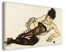 Quadro moderno Egon Schiele vol XXXI stampa su tela canvas pittori famosi