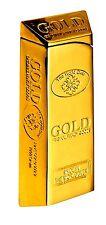Gold 999.9 Bullion Bar Ingot Electronic Gas Lighter Refillable Gold Lighter
