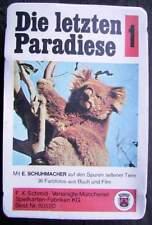 Quartett Schmidt - Die letzten Paradiese mit Anleitung Neu