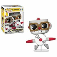 FUNKO POP! GAMES: Cuphead - Aeroplane Cuphead [New Toy] Vinyl Figure