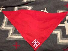 Boy Scouts Red Neckerchief Scarf Triangle Neck Cloth CBBD