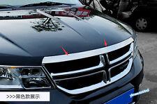 For Dodge Journey Fiat Freemont 2010-2015 Front Hood Grille Engine Streamer Trim