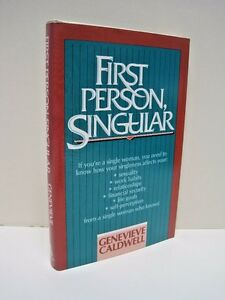 First Person Singular by Genevieve Caldwell