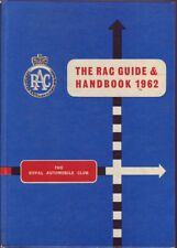 THE ROYAL AUTOMOBILE CLUB GUIDE AND HANDBOOK 1962 1st Ed. HC Book