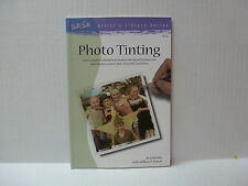 """Walter Fosters """"Photo Tinting""""  Book With Marshalls Photo Oil Paint Assortment"""