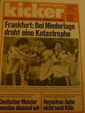 Kicker 1982 , Nr.91 , Eintracht Braunschweig , Borussia Dortmund