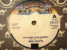 "MAC DAVIS - IT'S HARD TO BE HUMBLE  7"" VINYL"