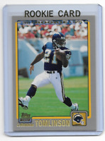 Ladainian Tomlinson 2001 Topps Rookie Card #350 qty HOF Real Rookie