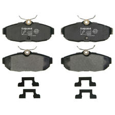 Disc Brake Pad Set Rear Federated D1082