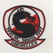 Aufnäher Patches MC Motorrad Club SBASS 1997 Oberellen
