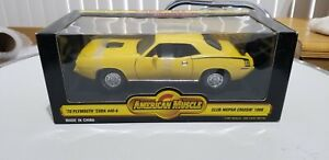 Ertl American Muscle 70 Plymouth Cuda 440-6 Campbell Classics