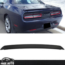Fit For 08-14 Dodge Challenger ABS SRT Style Rear Deck Trunk Lip Spoiler Wing