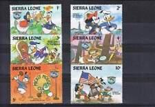 Serie Disney postfris MNH Sierra Leone: Mickey Donald Goofy (dis068)