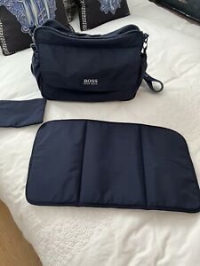 Hugo Boss Baby Changing Bag, And Changing Mat, One Size