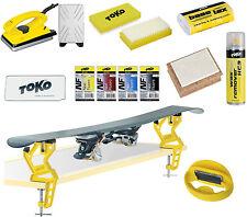 Toko Skiwax Set mit Skispanner und Kantenschärfer 12 Teilig