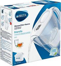 CARAFFA FILTRANTE BRITA MARELLA BIANCA 2,4 LITRI CON 1 FILTRO MAXTRA+ INCLUSO