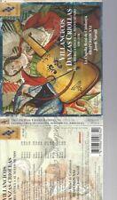 CD--SAVALL, LA CAPELLA REIAL DE CATALUNYA,   --VILLANCICOS Y DANZAS CRIOLLAS
