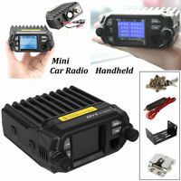 QYT KT-8900D VHF UHF 25W Quad Standby Mini Car Mobile Radio Transceiver 5Tone US