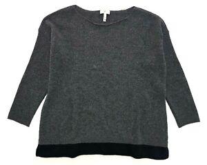 Joie Dark Grey Cashmere Sweater Size XS Womens
