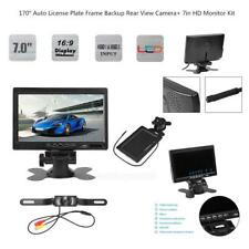 "7"" Car HD Monitor System Kit + 170° Backup Rear View Reverse Camera Night Vision"